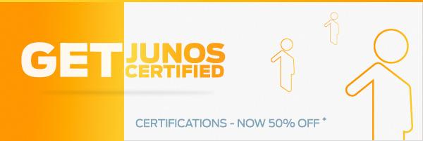 Get Junos Certified